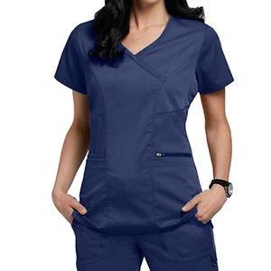 Greys Anatomy Navy Blue Scrub Set
